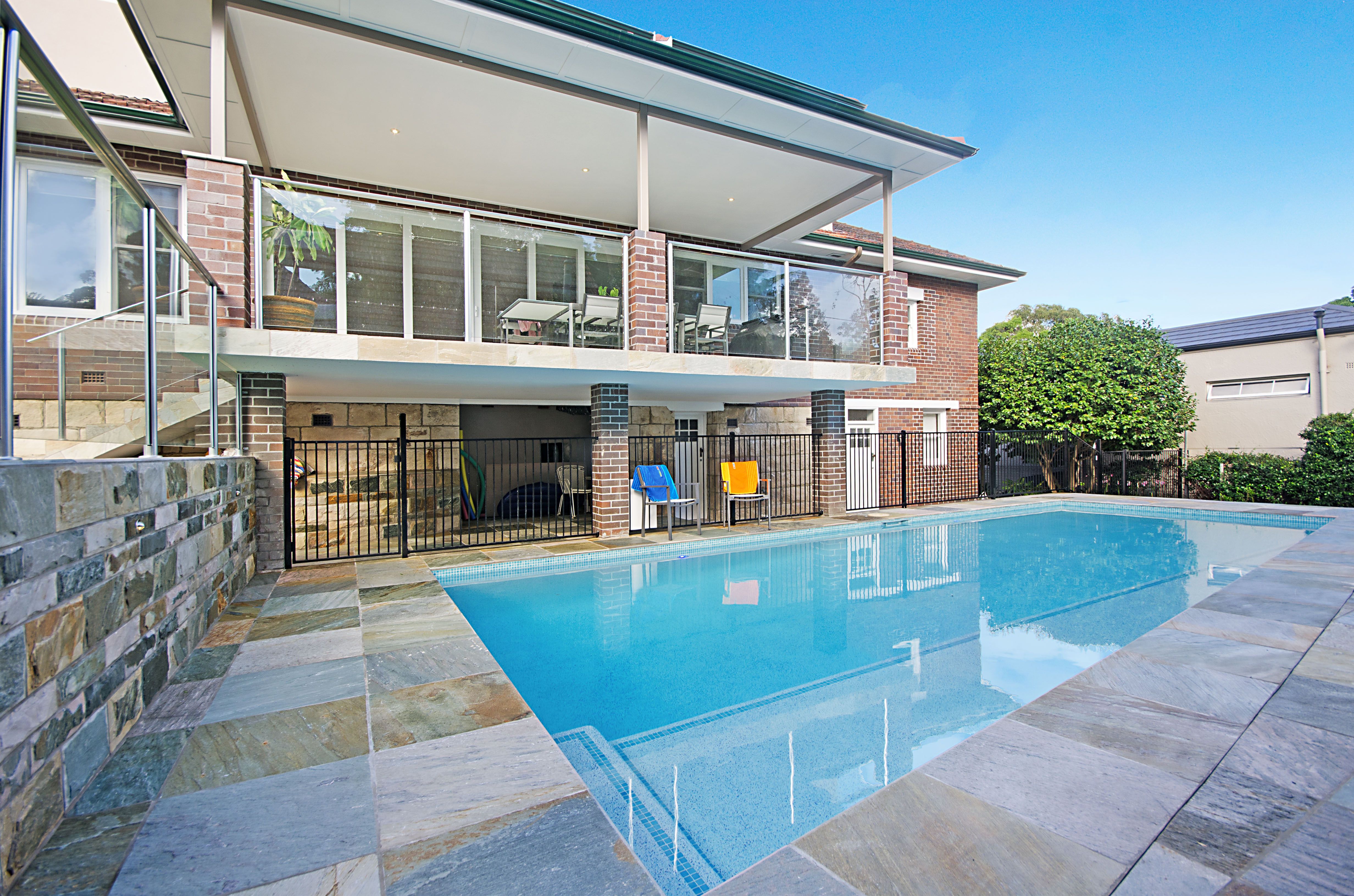 Backyard pool solar sydney pool and outdoor design for Pool design sydney