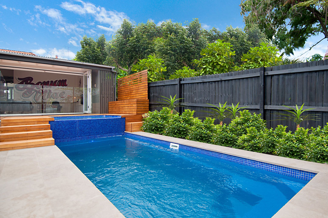 Swim spa plunge pool sydney pool and outdoor design for Pool exterior design
