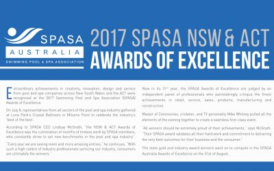 2017 SPASA NSW and ACT Awards of Excellence