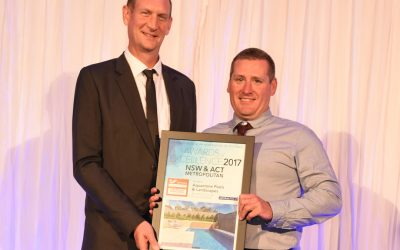 Aquastone Pools & Landscapes – SPASA Awards 2017