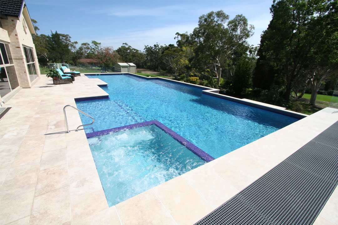 Lap Pool - Concrete - Silver