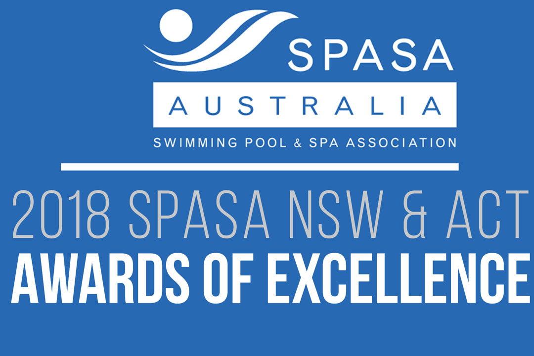 2018 Spasa Nsw Amp Act Awards Of Excellence Sydney Pool
